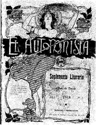 Autonomista. Suplement Literari, L'. 1/1/1902. [Issue]
