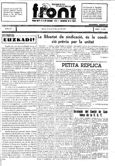 Front. 16/6/1937. [Issue]