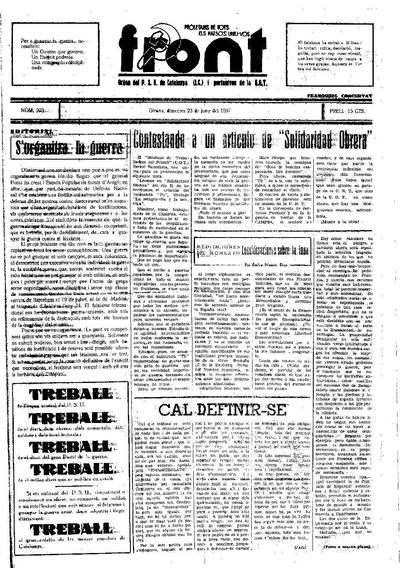 Front. 23/6/1937. [Issue]