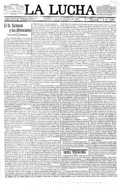 Lucha, La. 5/1/1897. [Issue]