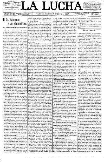 Lucha, La. 6/1/1897. [Issue]