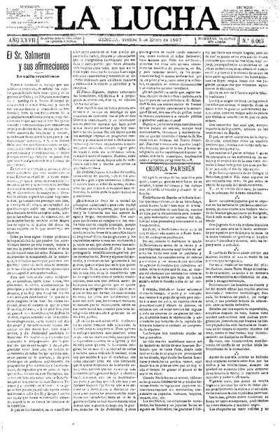 Lucha, La. 8/1/1897. [Issue]