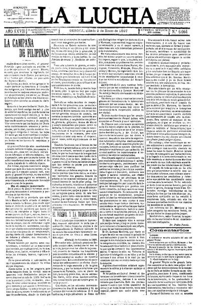 Lucha, La. 9/1/1897. [Issue]