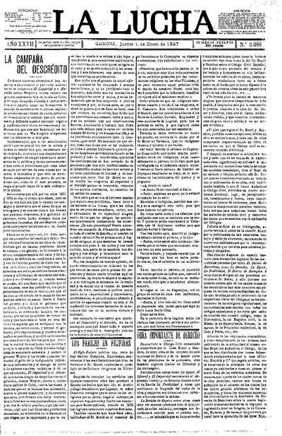 Lucha, La. 14/1/1897. [Issue]