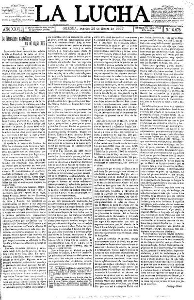 Lucha, La. 26/1/1897. [Issue]