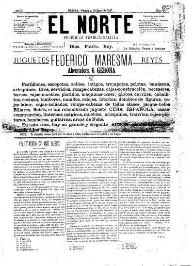Norte, El. 1/1/1897. [Issue]