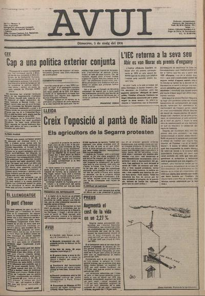 Avui. 5/5/1976. [Issue]