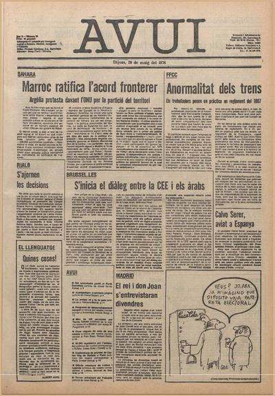 Avui. 20/5/1976. [Issue]