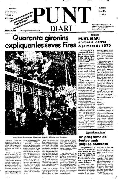 Punt, El. 29/10/1978. [Issue]