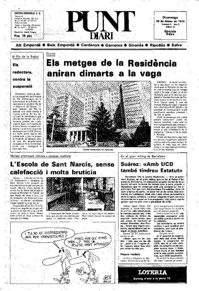 Punt, El. 25/2/1979. [Issue]
