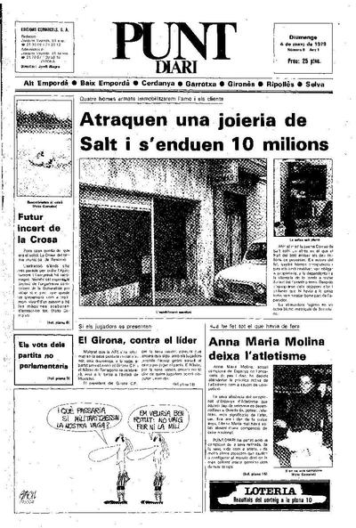 Punt, El. 4/3/1979. [Issue]