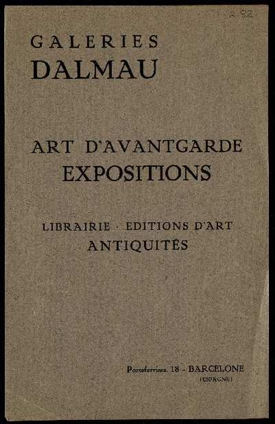 Art d'Avantgarde. [Record]