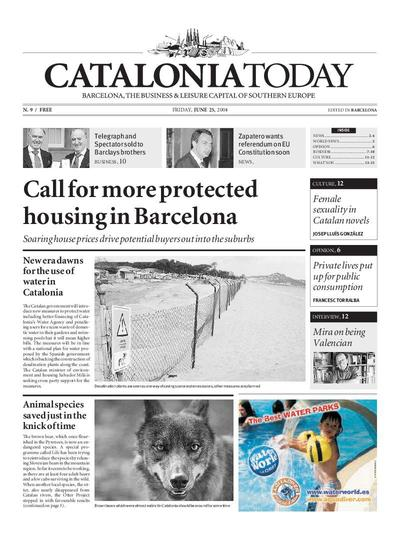 Catalonia Today. 25/6/2004. [Issue]