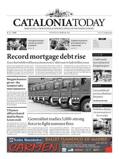 Catalonia Today. 30/6/2004. [Exemplar]