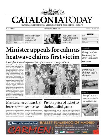 Catalonia Today. 1/7/2004. [Issue]