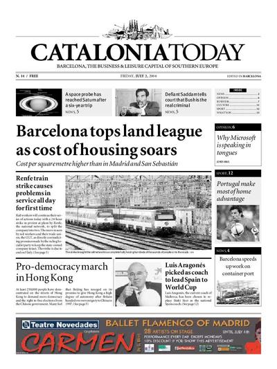 Catalonia Today. 2/7/2004. [Exemplar]