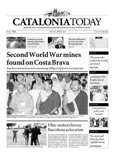 Catalonia Today. 6/7/2004. [Issue]