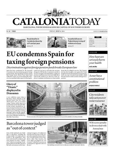 Catalonia Today. 9/7/2004. [Issue]