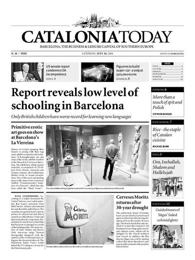 Catalonia Today. 10/7/2004. [Issue]