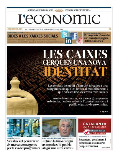 Econòmic, L'. 26/6/2010. [Issue]