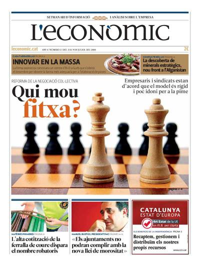 Econòmic, L'. 3/7/2010. [Issue]