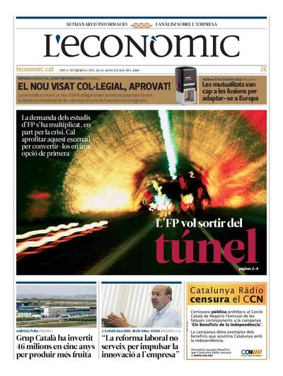Econòmic, L'. 24/7/2010. [Issue]