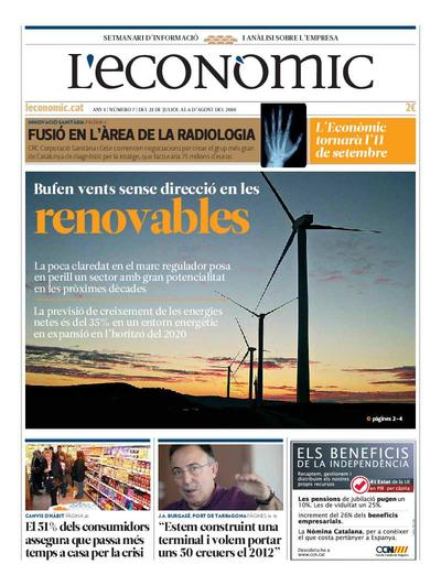 Econòmic, L'. 31/7/2010. [Issue]