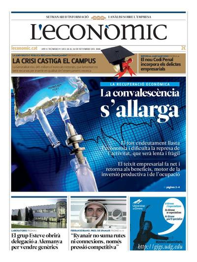 Econòmic, L'. 18/9/2010. [Issue]