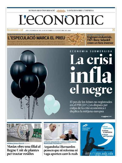 Econòmic, L'. 25/9/2010. [Issue]