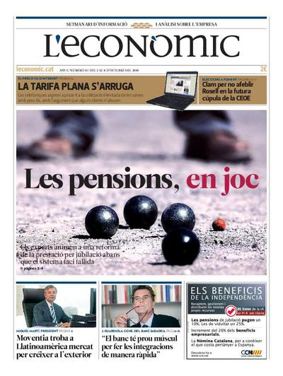 Econòmic, L'. 2/10/2010. [Issue]