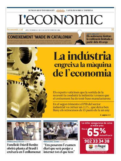 Econòmic, L'. 9/10/2010. [Issue]
