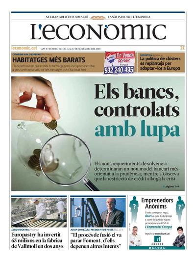 Econòmic, L'. 6/11/2010. [Issue]