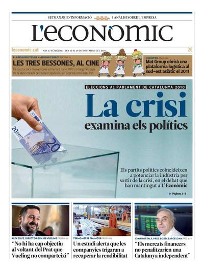 Econòmic, L'. 13/11/2010. [Issue]