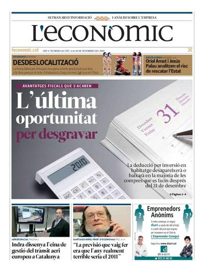 Econòmic, L'. 4/12/2010. [Issue]